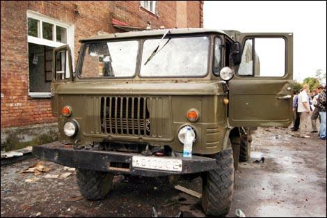 ГАЗ-66 с номером А 8130 СЕ